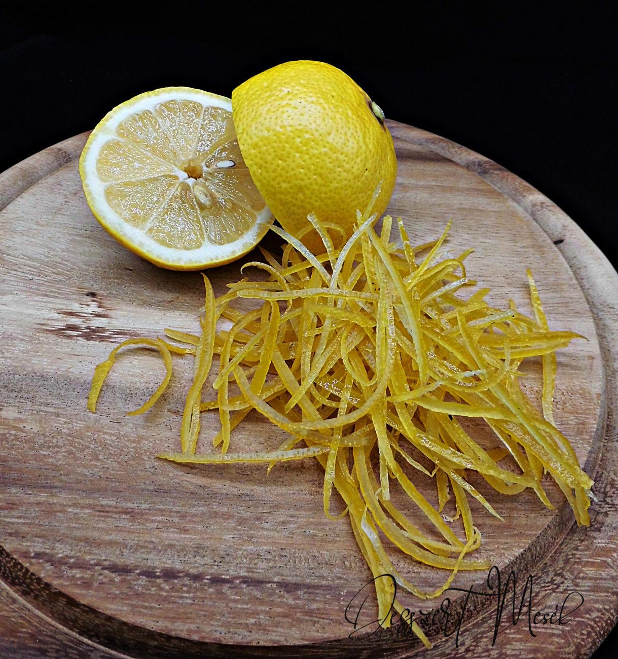 Cukrozott citromhéj