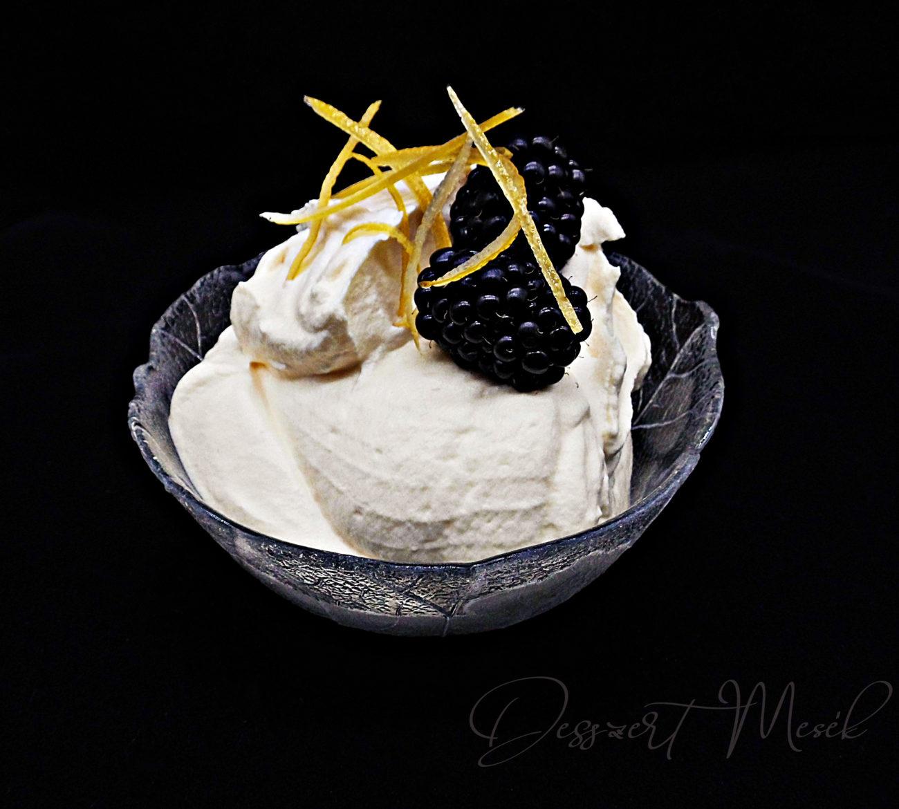 Fehér csoki-mousse