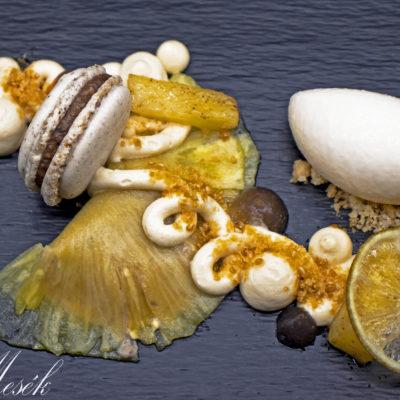 Ananász ravioli