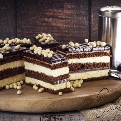Csokis vanília szelet