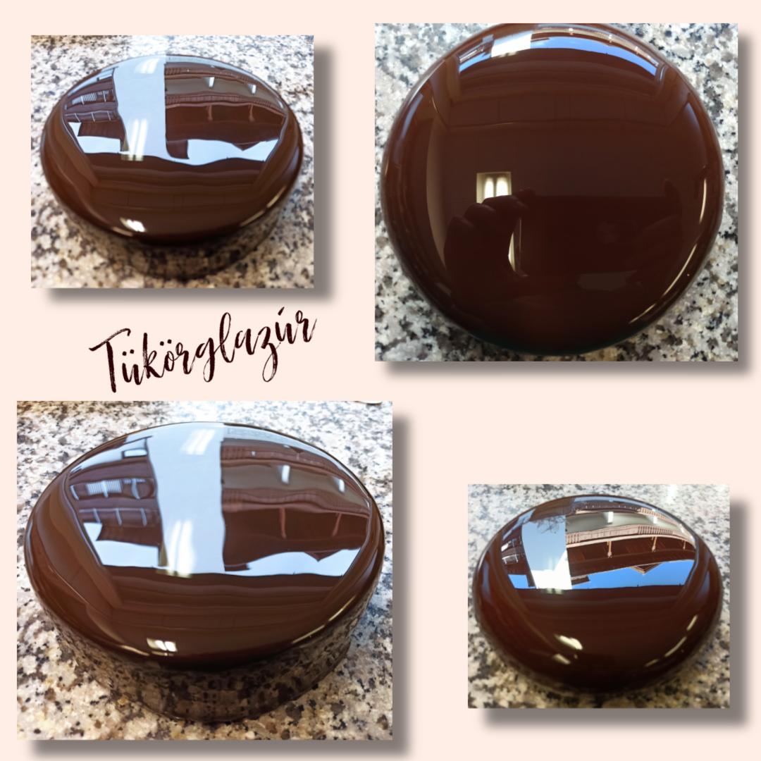 Csokis tükörglazúr 2.