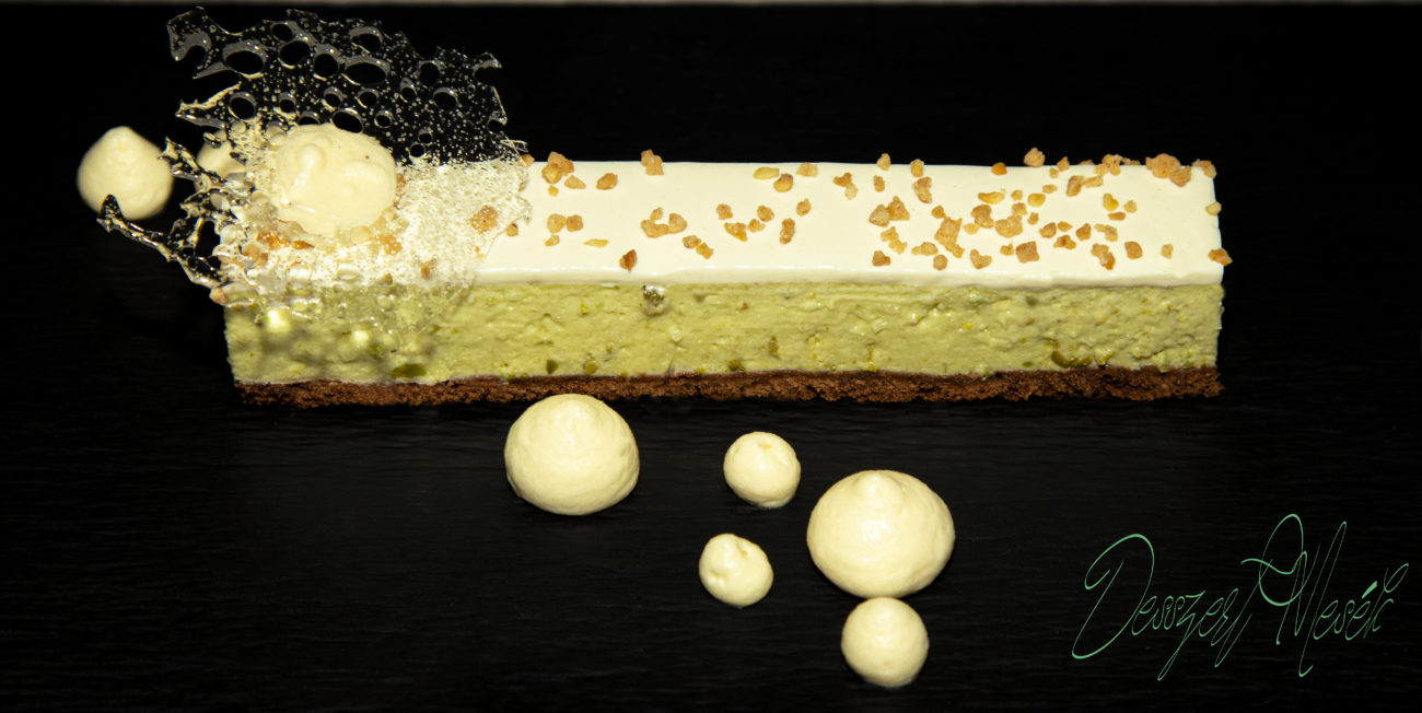 Avokádó-lime cheesecake