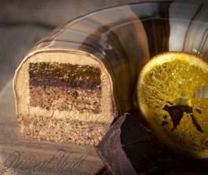 Karácsonyi narancsos csoki torta